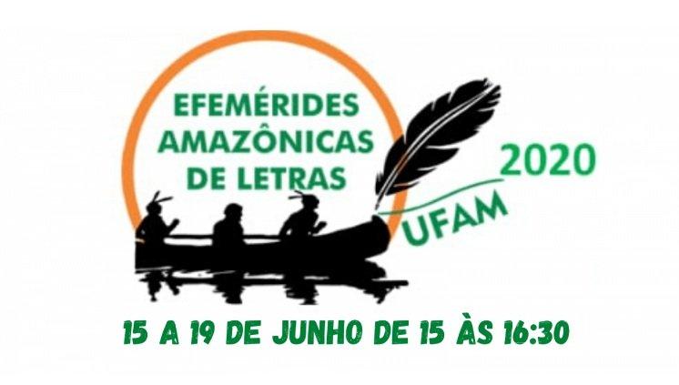 Inscrições para as Efemérides Amazônicas de Letras irão até o dia 15/06/2020