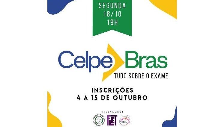 "Centro de Estudos de Línguas (CEL) promove o Encontro ""Celpe-Bras: Tudo sobre o Exame"""
