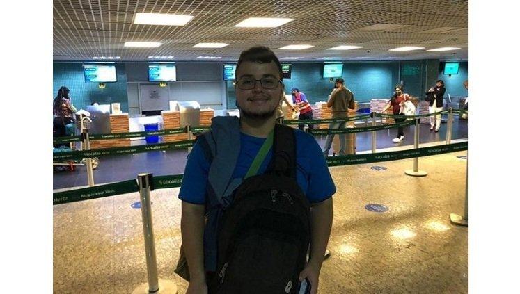 Nicolas Victor Sodré Dias, discente da FLet, fará sua mobilidade acadêmica no Japão