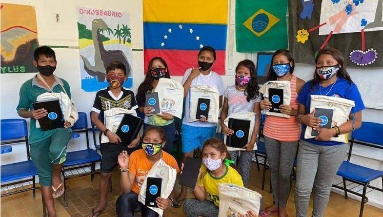 Projeto de extensão ensina português para crianças venezuelanas