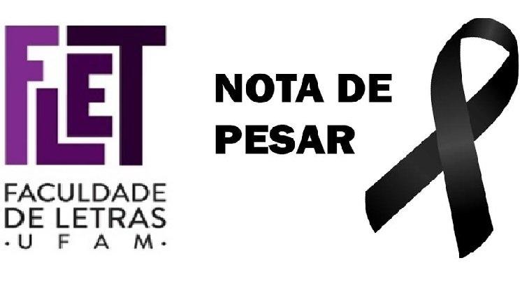Nota de Pesar - Pai da Prof.ª Dr.ª Raynice Geraldine Pereira da Silva
