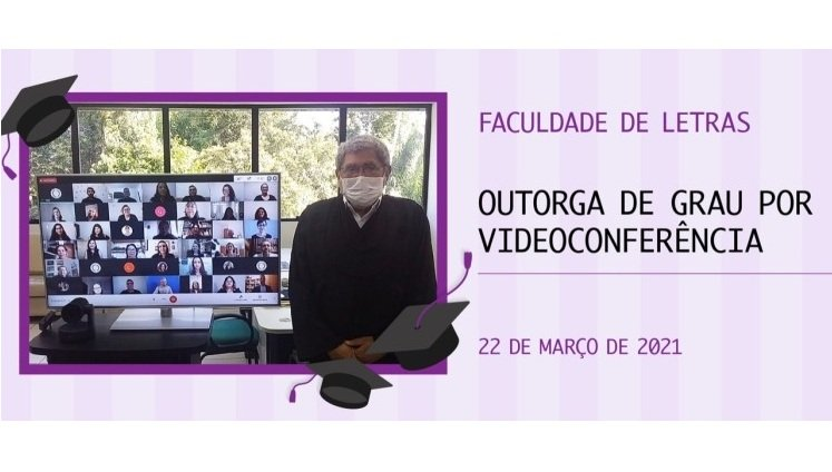 UFAM realiza solenidade de outorga de grau online de cursos da Faculdade de Letras